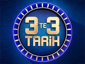 3'te 3 Tarih Logo / Profil Resmi