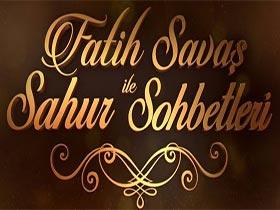 Fatih Savaş ile Sahur Sohbetleri Logo / Profil Resmi