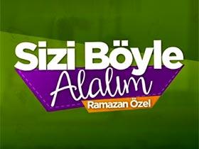 Sizi Böyle Alalım Ramazan Özel Logo / Profil Resmi