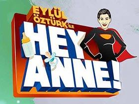 Eylül Öztürk ile Hey Anne Logo / Profil Resmi