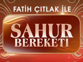 Fatih Çıtlak ile Sahur Bereketi Logo / Profil Resmi