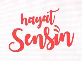 Hayat Sensin Logo / Profil Resmi