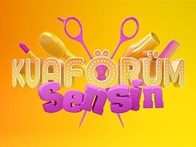 Kuaförüm Sensin Logo / Profil Resmi