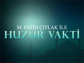 M. Fatih Çıtlak ile Huzur Vakti Logo / Profil Resmi