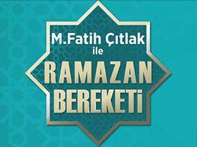 M.Fatih Çıtlak ile Ramazan Bereketi Logo / Profil Resmi
