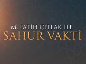 M. Fatih Çıtlak ile Sahur Vakti Logo / Profil Resmi