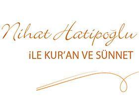 Nihat Hatipoğlu ile Kur'an ve Sünnet Logo / Profil Resmi