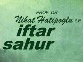 Nihat Hatipoğlu ile Sahur Logo / Profil Resmi